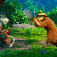 Bianca & Grey e la pozione magica: una scena del film animato