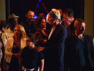 Come diventare grandi nonostante i genitori: Matthew Modine e Giovanna Mezzogiorno in un momento del film