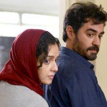 Il cliente: Taraneh Alidoosti e Shahab Hosseini in una scena del film