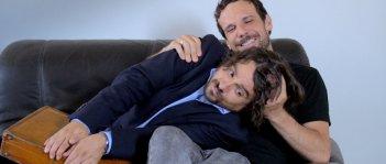In bici senza sella: Flavio Domenici e Francesco Montanari in una scena del film