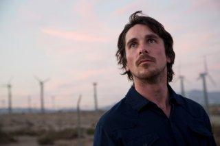 Knight of Cups: Christian Bale in una scena del film