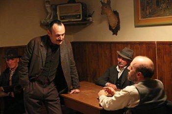 La pelle dell'orso: Paolo Pierobon e Marco Paolini una scena del film