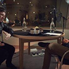Oasis: Supersonic, Noel Gallagher in un'immagine tratta dal documentario
