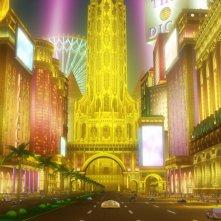 One Piece Gold - Il film: una scena del film d'animazione