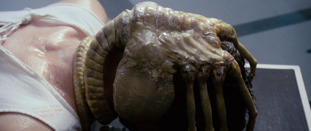 Alien di Ridley Scott, una scena del film