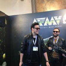 Lucca 2016: I The Jackal alla manifestazione per presentare il film Addio fottuti musi verdi
