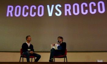 Rocco Siffredi e Rocco Tanica Lucca Comics 2016