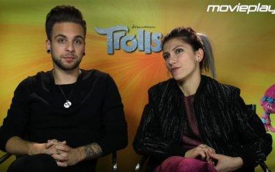 Trolls, cantare la felicità – La nostra intervista ai doppiatori Elisa e Alessio Bernabei