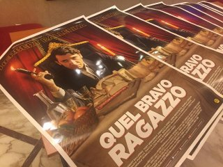 Quel bravo ragazzo: i poster a Lucca Comics & Games