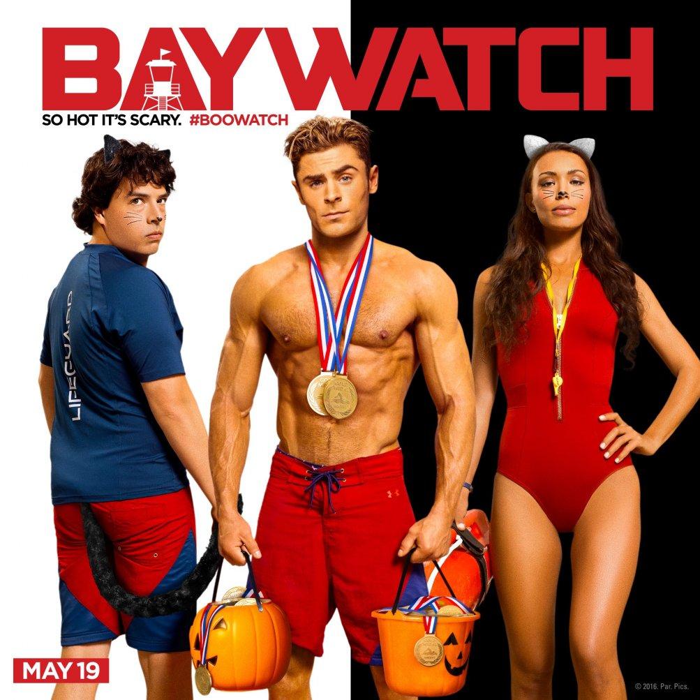 Baywatch: alcuni membri del cast in una foto promozionale del film