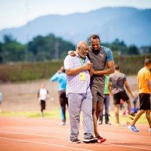 I Am Bolt: il campione durante una sessione di allenamento