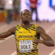 I Am Bolt: Usain Bolt in un'immagine del documentario