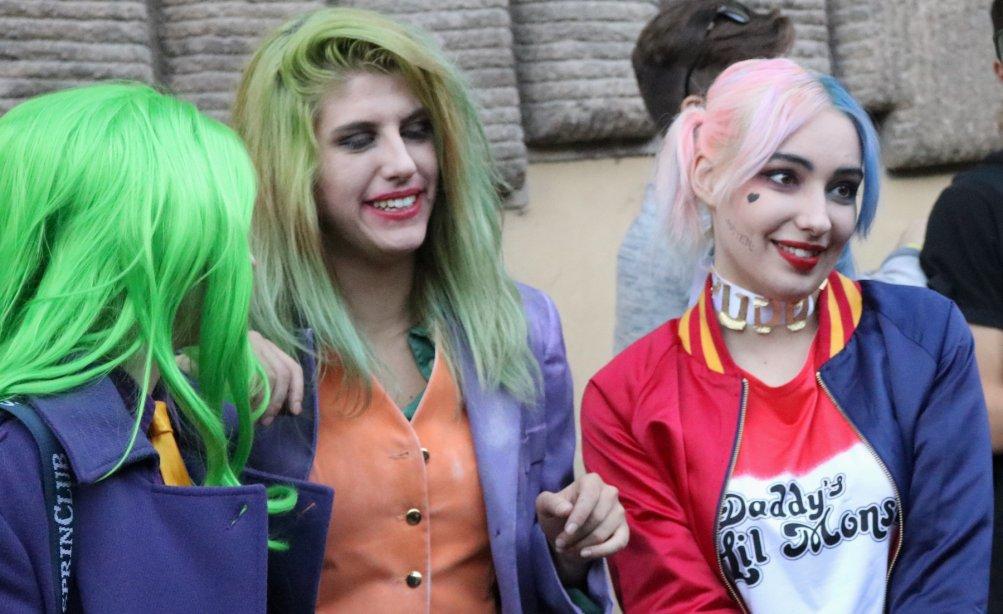 Lucca 2016: uno dei tanti cosplay a tema Suicide Squad