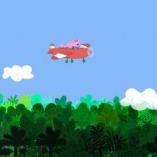 Peppa Pig in giro per il mondo: una scena dei nuovi episodi della serie animata