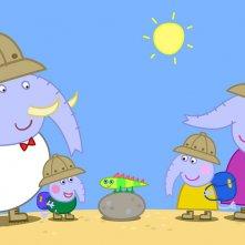 Peppa Pig in giro per il mondo: un momento della serie animata
