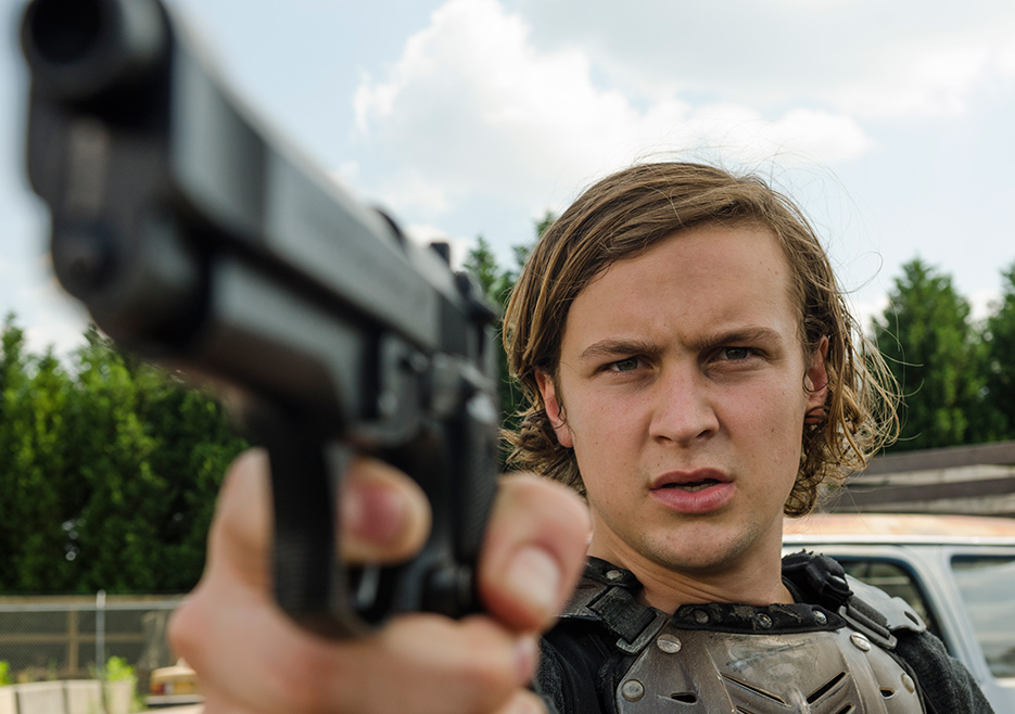The Walking Dead Episode 702 Ben Miller 935