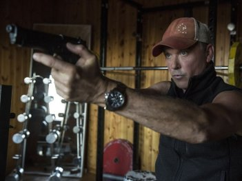 American assassin: Michael Keaton in una foto del lungometraggio