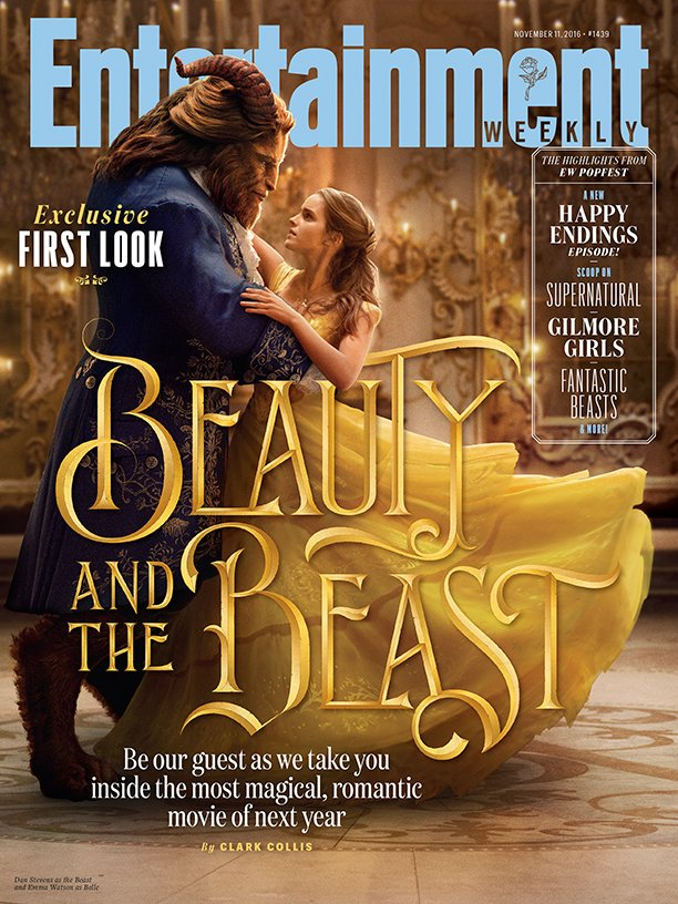 Beauty and the Beast: la copertina di Entertainment Weekly