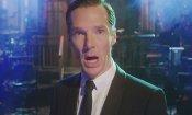 Benedict Cumberbatch fa il suo drammatico ingresso nel Saturday Night Live