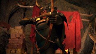 Kubo e la spada magica: una scena del film d'animazione