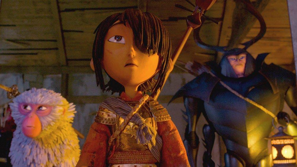 Kubo e la spada magica: un'immagine del film animato