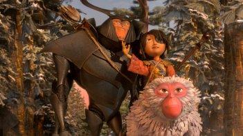 Kubo e la spada magica: un momento del film animato