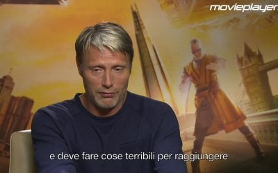 Doctor Strange: video intervista a Mads Mikkelsen