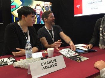 The Walking Dead: Il disegnatore Charlie Adlard allo stand Saldapress a Lucca 2016