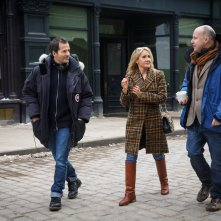 Animali Fantastici e Dove Trovarli: David Heyman, J.K. Rowling e David Yates sul set del film