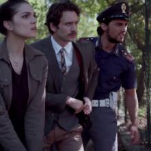 Fratelli di sangue: Carlotta Morelli e Graziano Scarabicchi in una scena del film