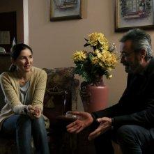 Il cittadino illustre: Oscar Martínez e Andrea Frigerio in una scena del film