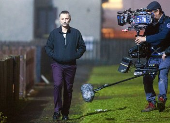 T2: Trainspotting 2, Robert Carlyle sul set del film