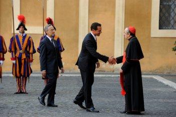 The Young Pope: Silvio Orlando in uno scatto della sesta puntata