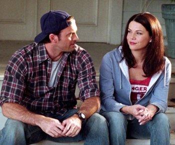 Una mamma per amica: Scott Patterson e Lauren Graham in una scena