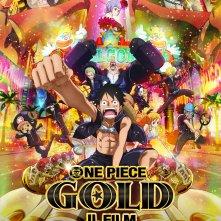 Locandina di One Piece Gold - Il film