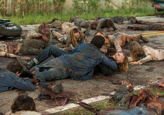 The Walking Dead: Austin Amelio in una foto dell'episodio The Cell