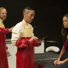 Westworld: Leonardo Nam, Ptolemy Slocum e Thandie Newton in The Adversary