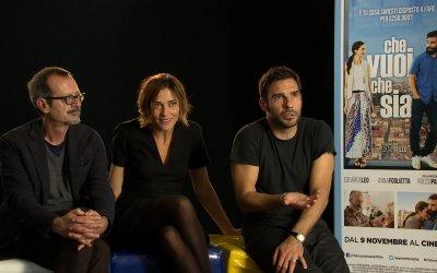 Che vuoi che sia, parlano i protagonisti Leo, Foglietta e Papaleo
