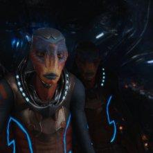 Valerian e la città dei mille pianeti: delle creature in una foto del film