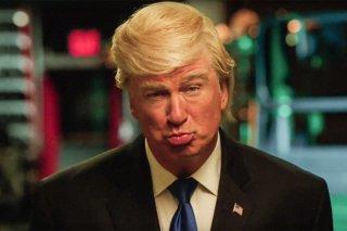 Alec Baldwin imita Trump al SNL