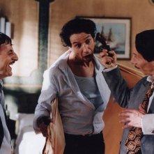 La leggenda di Al, John e Jack: Aldo, Giovanni e Giacolo in una scena del film