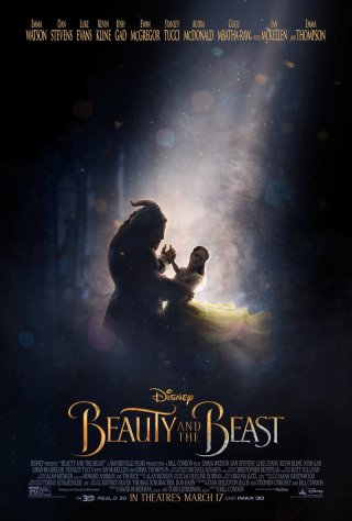 La bella e la bestia: il poster ufficiale