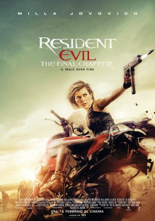Resident Evil: The Final Chapter - il poster italiano del film!