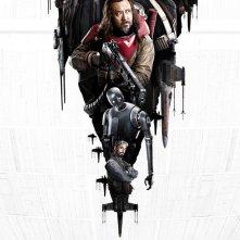 Rogue One: A Star Wars Story, la locandina della versione IMAX