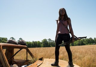 The Walking Dead: l'attrice Danai Gurira in Al tuo servizio
