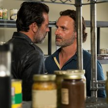 The Walking Dead:gli attori Jeffrey Dean Morgan e Andrew Lincoln in Al tuo servizio