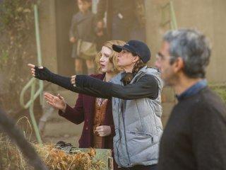 The Zookeeper's Wife: Jessica Chastain e la regista Niki Caro sul set