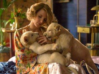 The Zookeeper's Wife: una foto della protagonista Jessica Chastain