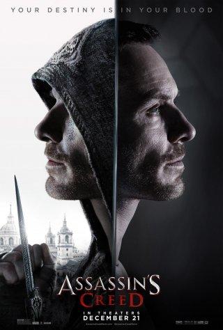 Assassin's Creed: un poster con Michael Fassbender