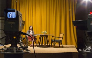 Christine: Rebecca Hall in un'immagine tratta dal film